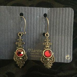 Vintage earrings from France